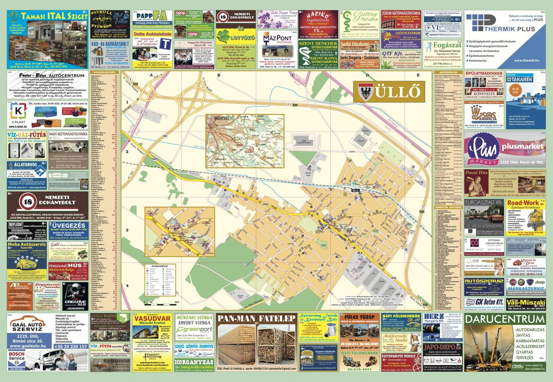üllő térkép Térkép   ullo.hu üllő térkép